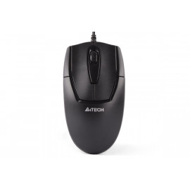A4Tech N-301 Padless V-Track USB Mouse - 1000dpi - Mid-Sized - Black