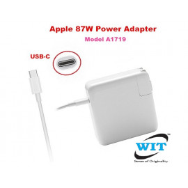 Apple (MNF82CH/A) Compatible A1719 87W USB-C Power Adapter - White