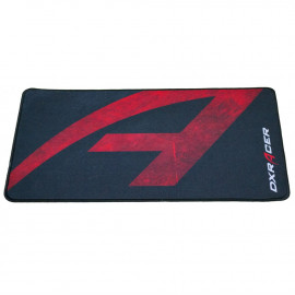 DXRacer MP/93/NR Gaming Mouse Pad - 27.5 cm x 46.5 cm - Red on Black