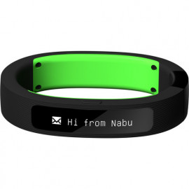 RZ15-01520200-R3A1 NABU SMARTBAND RAZER BLACK/Green Small-Medium Size. Fitness- Sleep-Acitivity-Phon