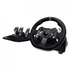 Logitech (941-000124) G920 Driving Force Racing Wheel - for XBOX and PC - Black