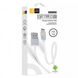 Case Logic (CL-CP-CA-101-WT) 3.5FT TYPE C USB Braided Synch Cable - White