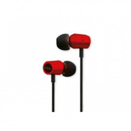 Iconz (IIEH2MR) In-Ear Classy Headset;Secure Fit; hands free; Answer Button - Metallic Red