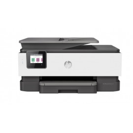 HP (1KR64B) OfficeJet Pro 8023 All-in-One Printer- Print; Copy; Scan; Fax - Wifi - White