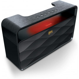 iSound HiFi Waves Pro Portable BT Speaker & FM Radio - Black