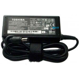 BC Adapter Toshiba 19V 3.42A Compatible Laptop AC Adapter - 5.5*2.5 Connector - Black