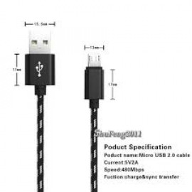 CEM (CH0009502) Toshiba H000035670 Compatible Sync Cable for Smartbook AT300 - Black