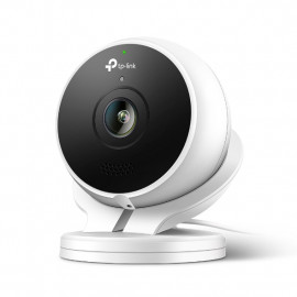 TP-Link (KC200) Kasa Cam FHD 1080p Smart Outdoor Security Cam; Works With Alexa - Black and White