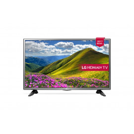 "LG (32LJ520U) Smart LED TV 32"" With Built-in Satellite Receiver - Silver on Black"