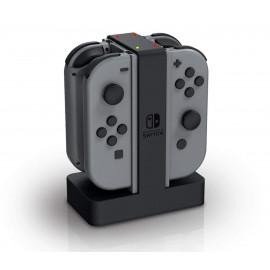 bigben Quad Charging Station for Nintendo SWITCH Joy-Con Controller - Black (SWITCHQUADCHARGER)